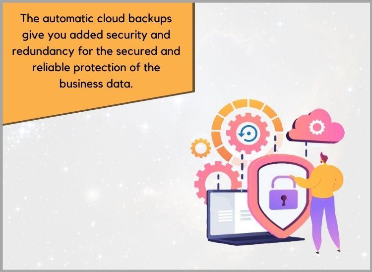 Automatic cloud backup