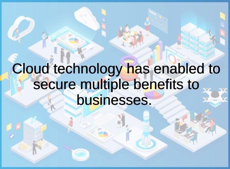 Cloud technology for tally erp