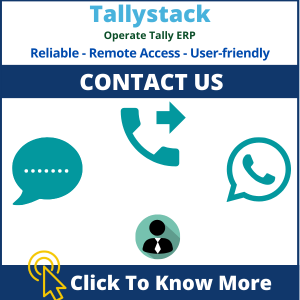 For tally on cloud Contact us