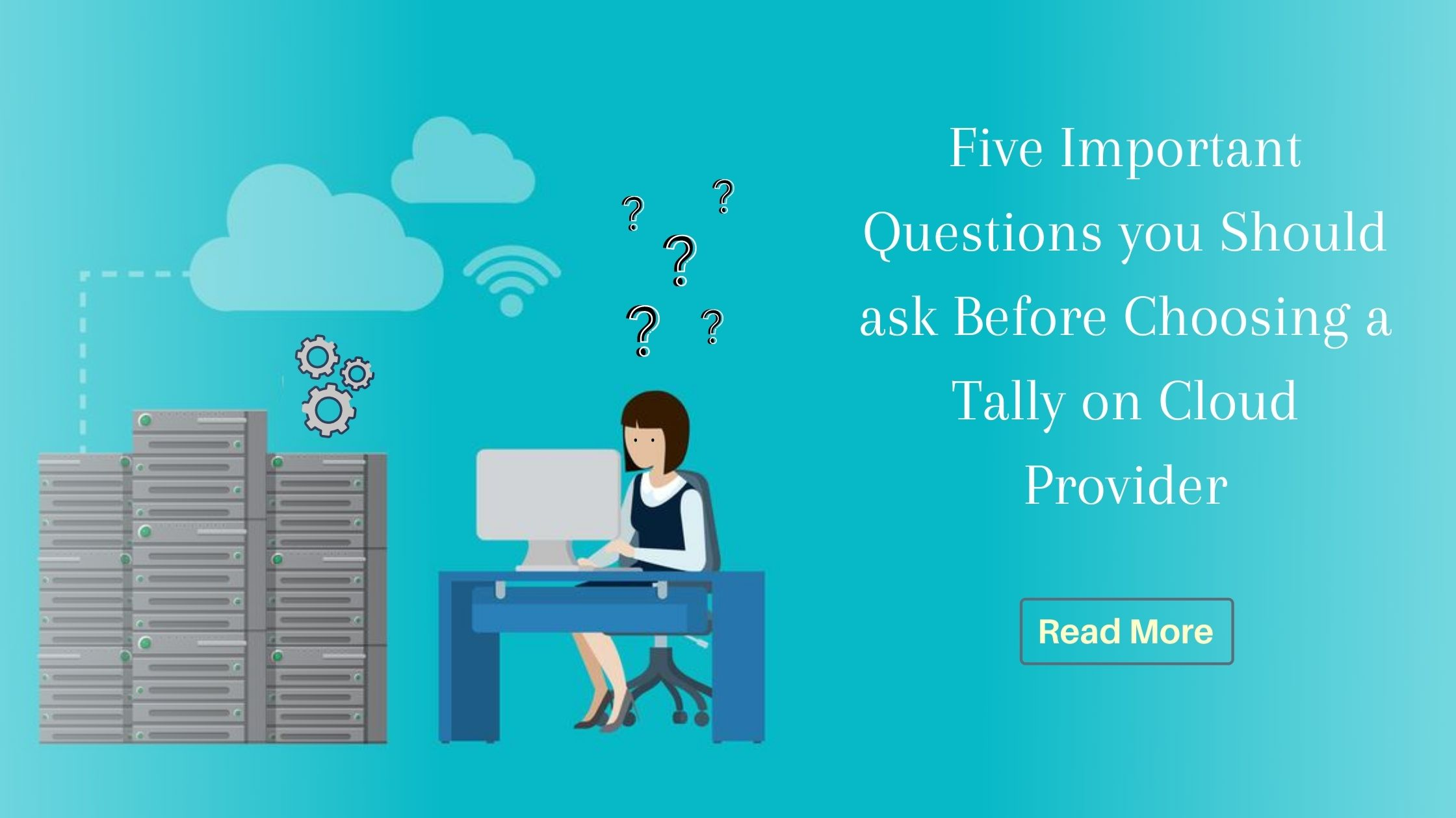 Questions for Tally on cloud provider