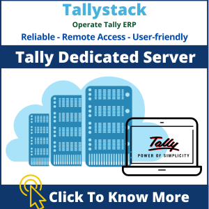 Cloud based Tally Dedicated Server
