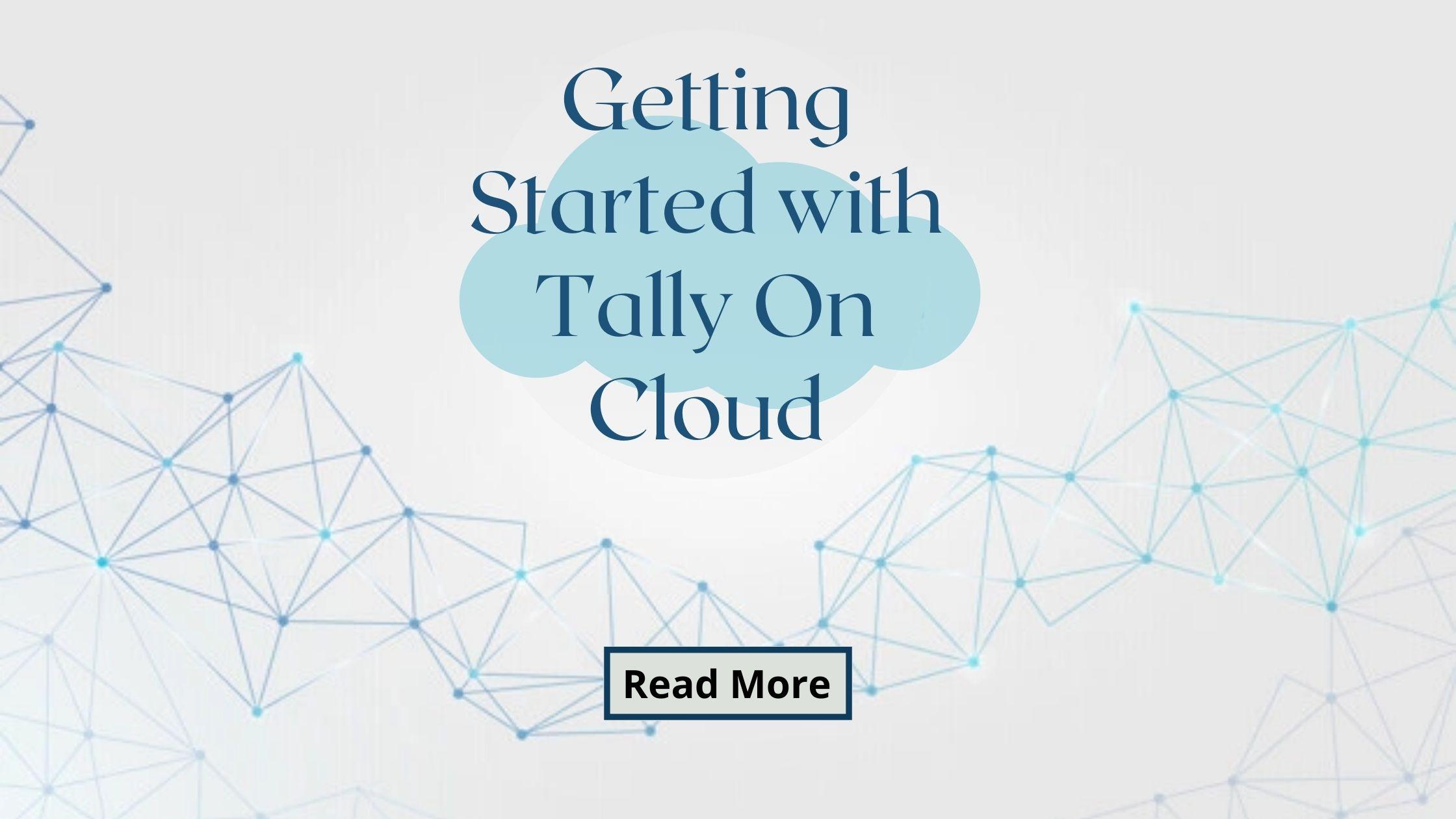 Tally On Cloud