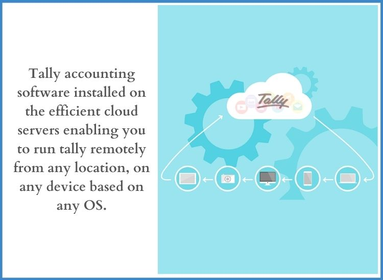 Tally accounting software in cloud