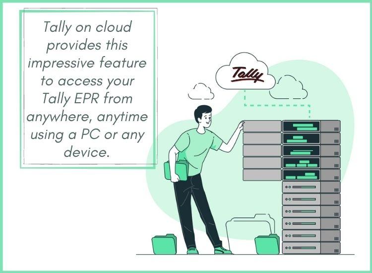 Tally cloud any device