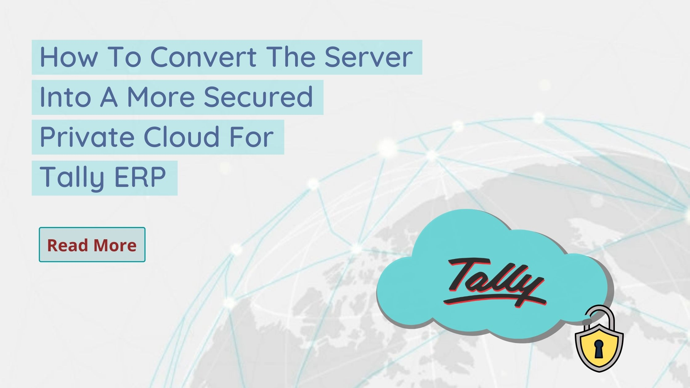Convert into Private Cloud For Tally ERP