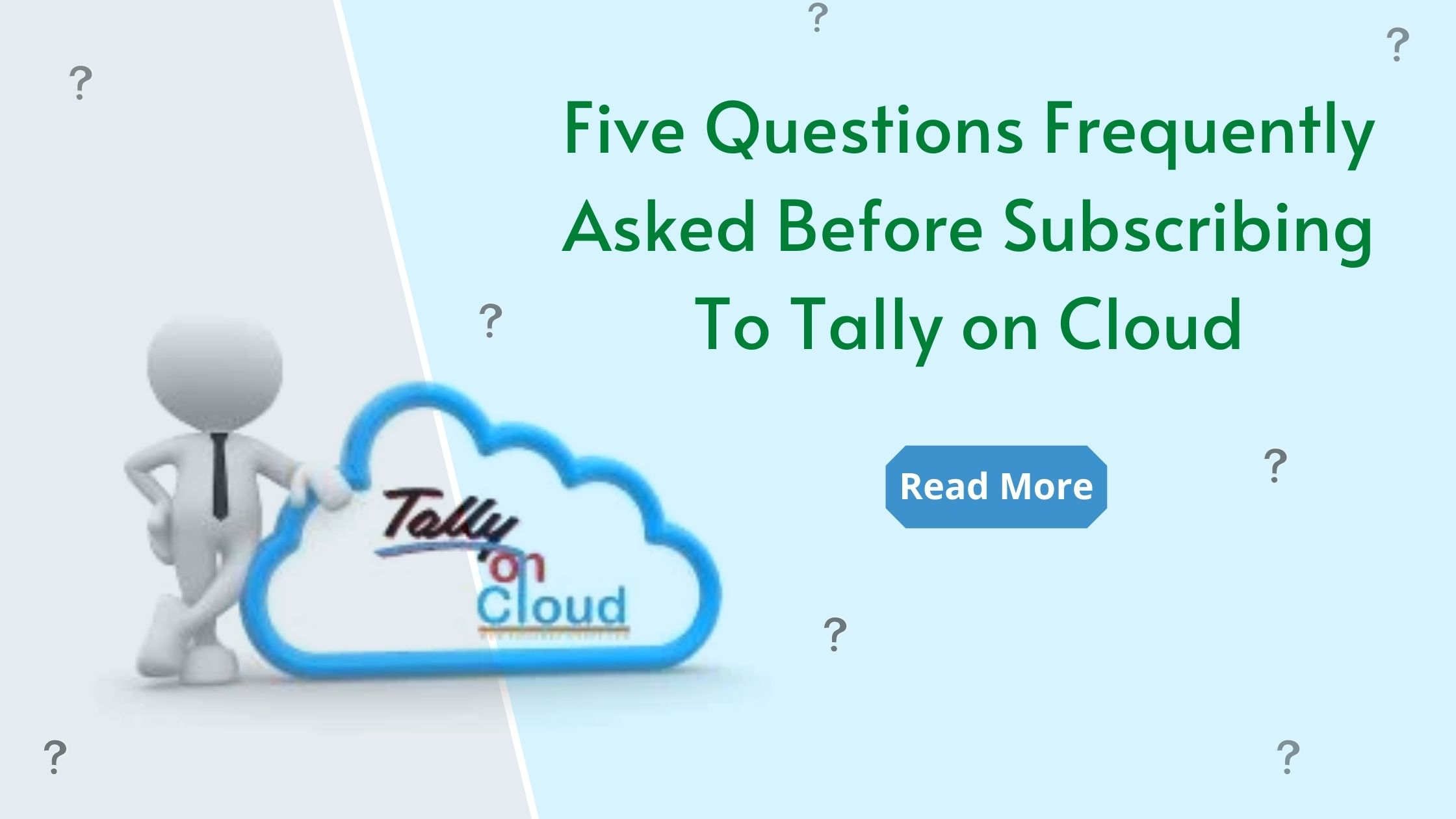 Subscribe Tally on Cloud