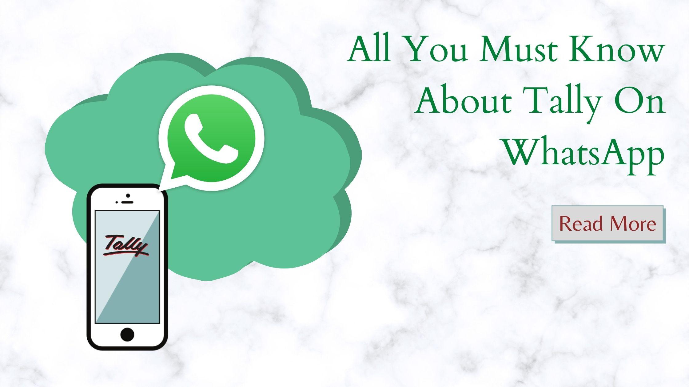 Tally On WhatsApp