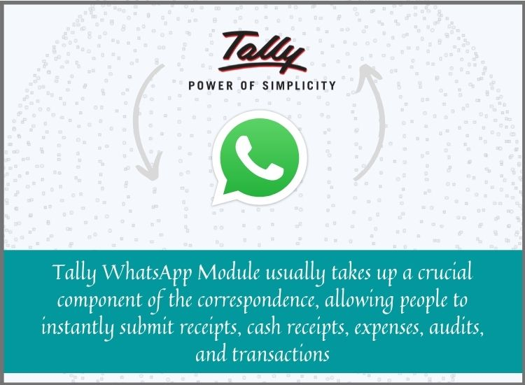 Tally whatsapp module