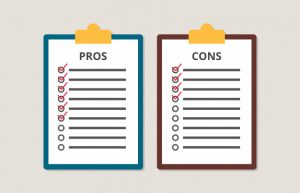 pros and cons tally on cloud