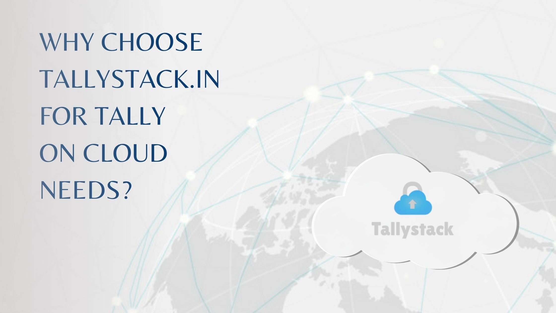 Tallystack Tally on cloud