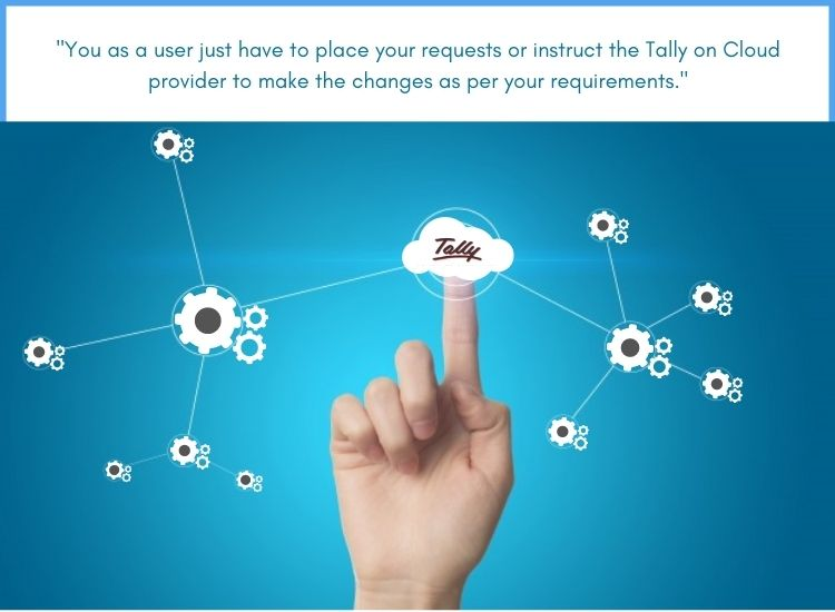 Tally on cloud install