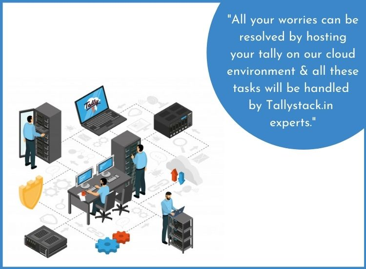 Tallystack tally on cloud service
