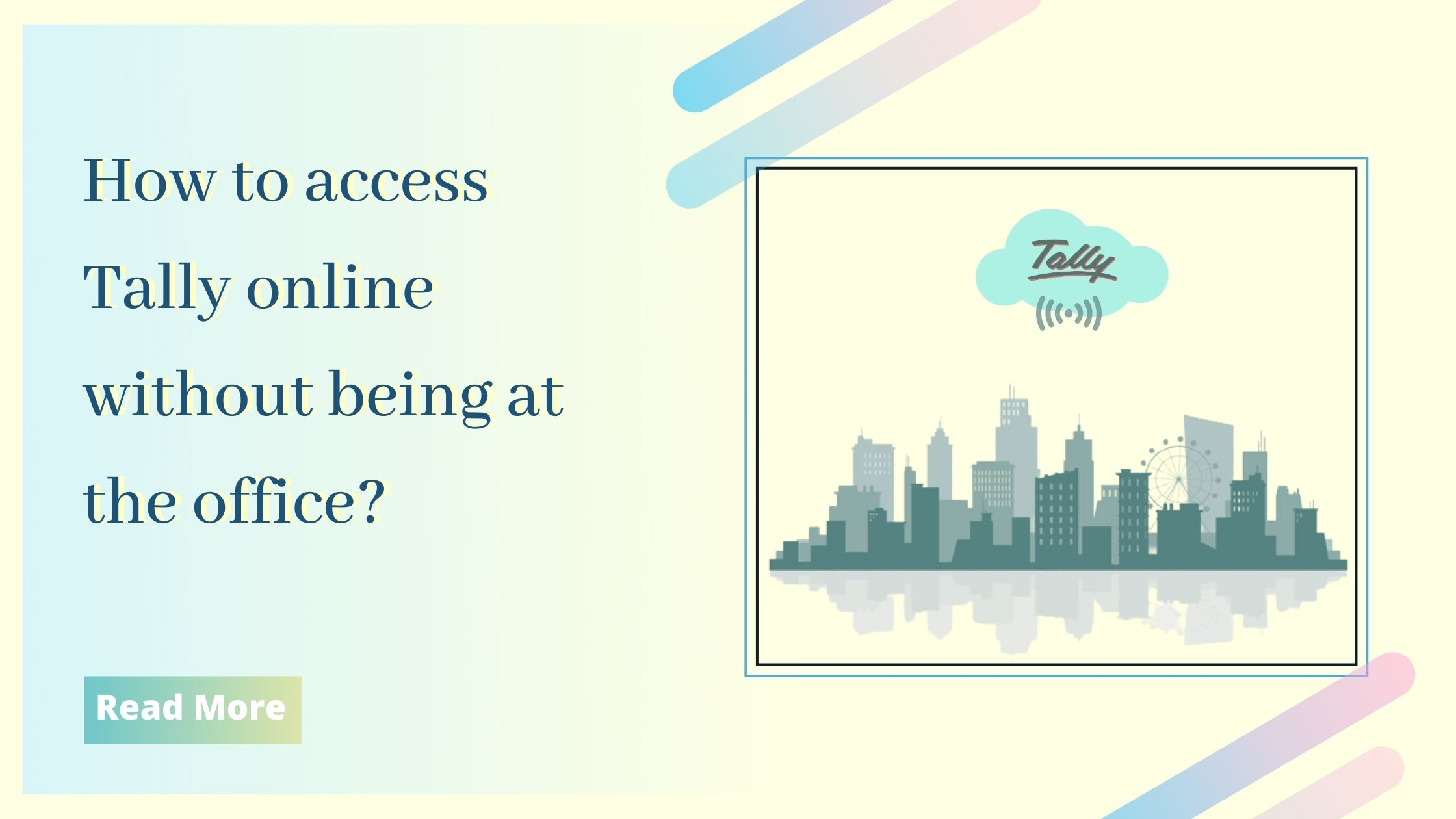 Tally online access anywhere
