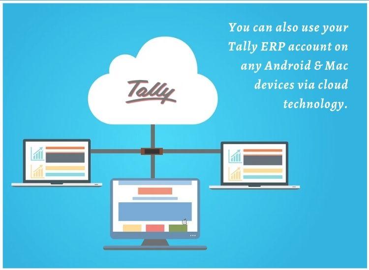 Tally erp any device