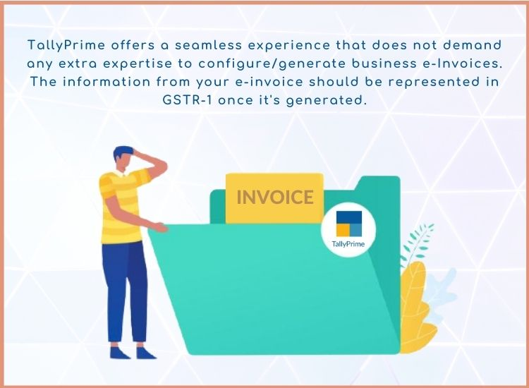 Tallyprime E-invoice